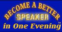 Become a Better Speaker