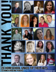 Thank You! 20 Homeschool Grads Tip Their Hats to Homeschooling Parents