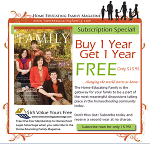 Home Educating Family Magazine