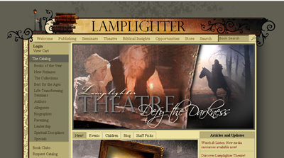 Lamplighter Publishing Website